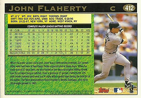 Topps John Flaherty