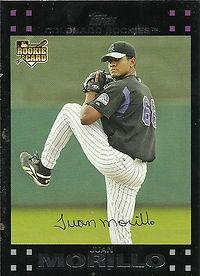 Topps Juan Morillo