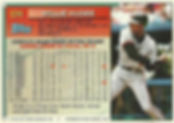 Willie McGee Topps