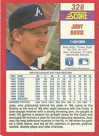 Score Jody Davis