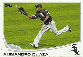 Topps Alejandro De Aza