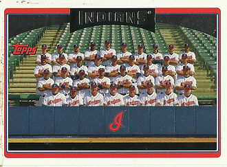 Topps Cleveland Indians