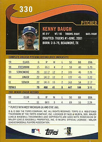 Topps Kenny Baugh