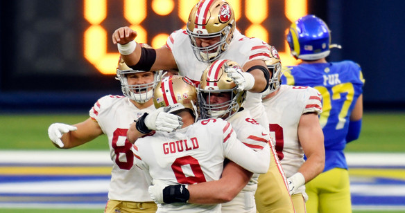 4. Gould Game-Winner at LAR, Week 12
