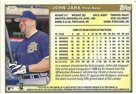 John Jaha Topps