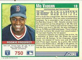 Score Mo Vaughn