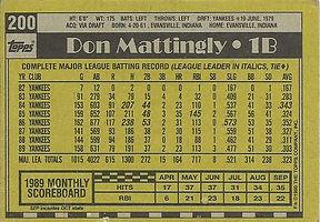 Topps Don Mattingly
