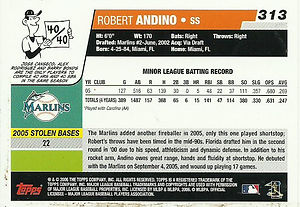 Topps Robert Andino