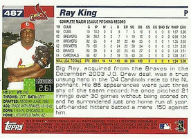 Topps Ray King