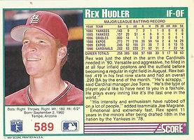 Score Rex Hudler
