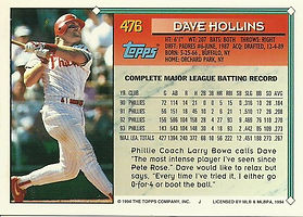 Topps Dave Hollins