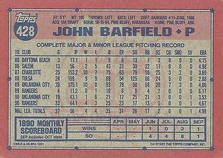Topps John Barfield