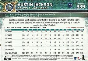 Topps Austin Jackson