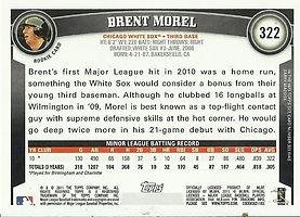 Topps Brent Morel