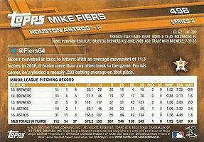 Topps Mike Fiers