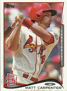 Topps Matt Carpenter