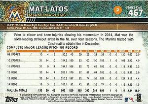 Mat Latos Topps
