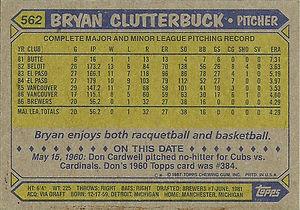 Topps Bryan Cluterbuck