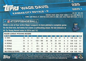 Topps Wade Davis