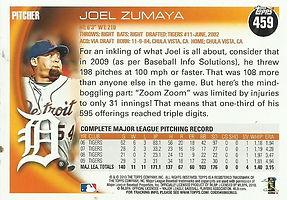 Topps Joel Zumaya