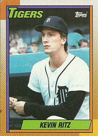 Topps Kevin Ritz