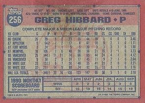 Topps Greg Hibbard