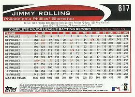 Topps Jimmy Rollins