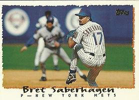 Topps Bret Saberhagen