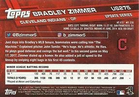 Topps Bradley Zimmer