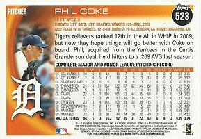Topps Phil Coke