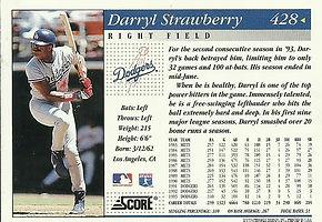 Score Darryl Strawberry