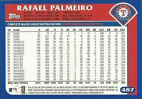 Topps Rafael Palmeiro