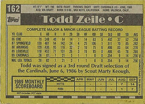 Todd Zeile Topps