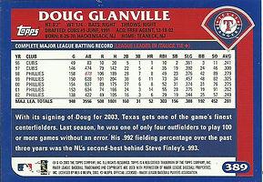Topps Doug Glanville