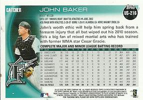 Topps John Baker