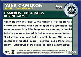 Topps Mike Cameron