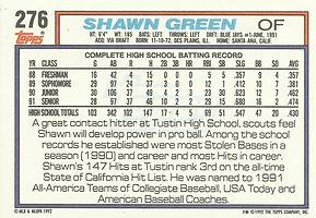 Topps Shawn Green
