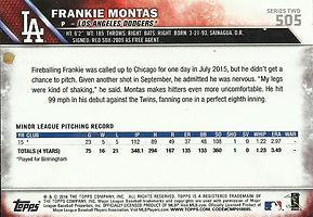 Topps Frankie Montas