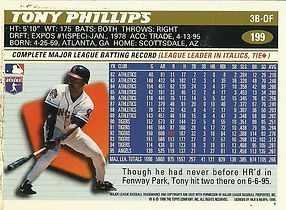 Topps Tony Phillips
