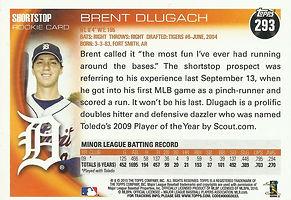 Topps Brent Dlugach