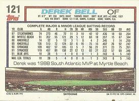 Topps Derek Bell