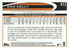 Topps Don Kelly