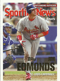 Topps Jim Edmonds