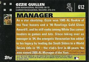 Topps Ozzie Guillen