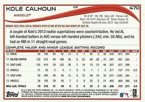 Topps Kole Calhoun