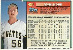 Topps John Hope
