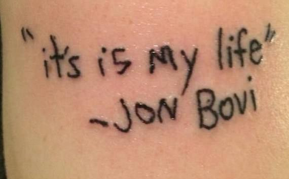 Somewhere, there IS a Jon Bovi, and he is indeed standing his ground in mangled English.