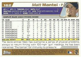 Topps Matt Mantei