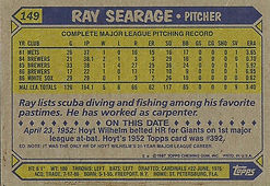 Ray Searage Topps