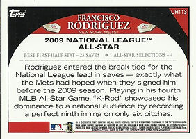 Topps Francisco Rodriguez